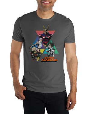 Koszulka dla mężczyzn Akademia Bohaterów postacie
