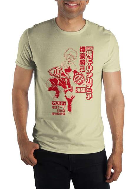 Bakugou T-Shirt for men - My Hero Academia
