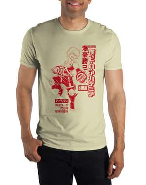 T-shirt de Bakugou para homem - My Hero Academia