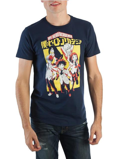 T-shirt de My Hero Academia estudantes para homem