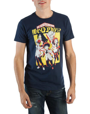 T-shirt My Hero Academia étudiants homme