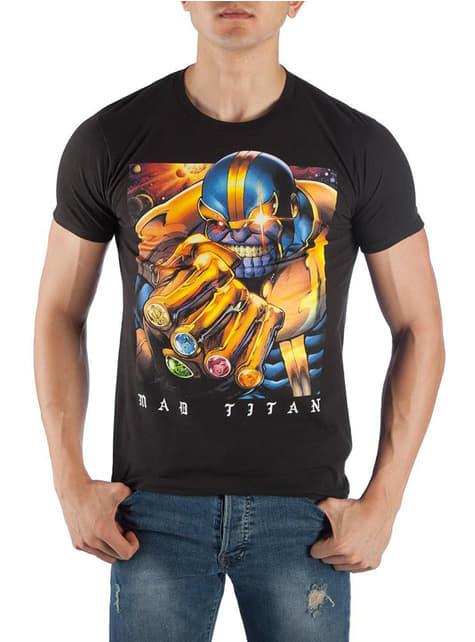 T-shirt de Thanos Mad Titan para homem - Vingadores Infinity War