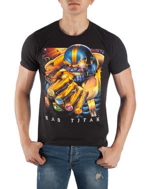 תאנוס Mad טיטאן בחולצת טריקו לגברים - הנוקמים: מלחמת אינפיניטי