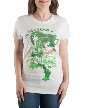 여성용 Froppy 티셔츠 - My Hero Academia