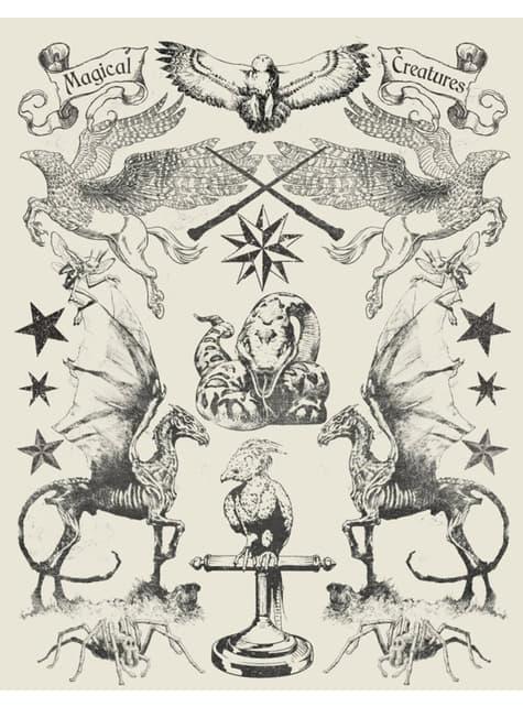 Harry Potter magical Creatures T-Shirt voor vrouwen