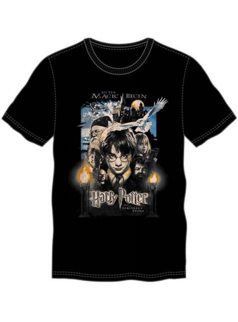 Гаррі Поттер і філософська кам'яна футболка для чоловіків
