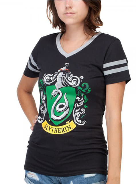 T-shirt Serpentard noir femme - Harry Potter