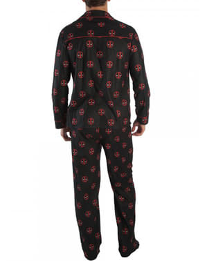 Pyjamas Deadpool vuxen - Marvel