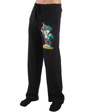 Deku und All Might Pyjamahose für Herren - My Hero Academia