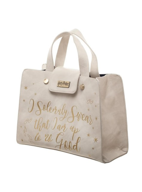Witte Solemnly Swear tas voor vrouwen - Harry Potter