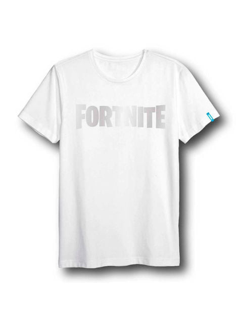 Fortnite Logo Unisex T-Shirt for adults in white