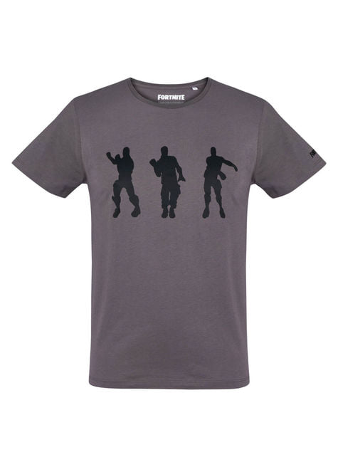 Camiseta Fortnite Dancing antracita para hombre