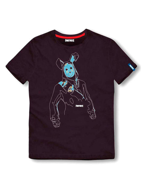 T-shirt Fortnite Dance preta infantil - Fortnite
