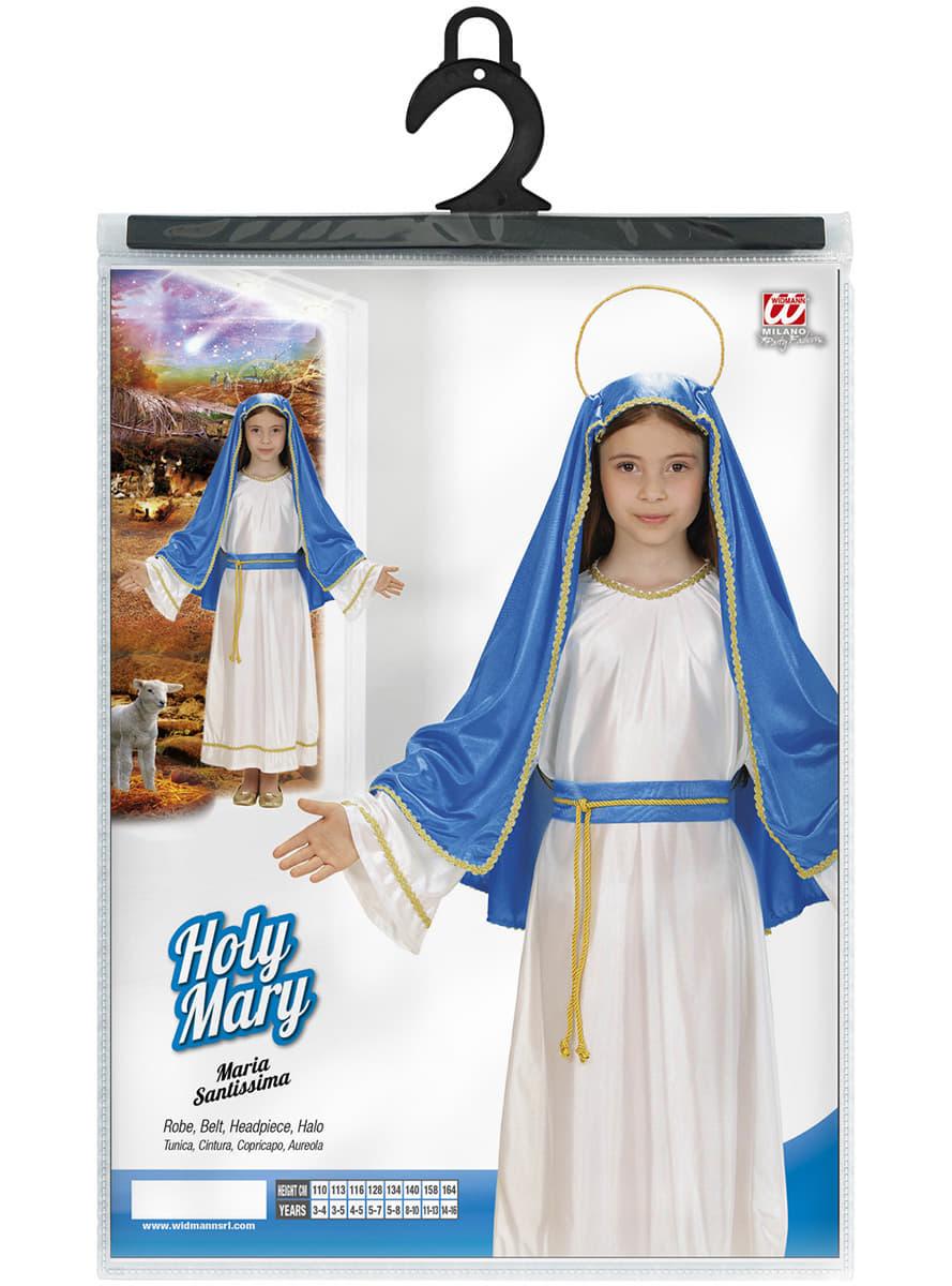 5634c7038ad75f De maagd Maria Kostuum voor meisjes. De coolste