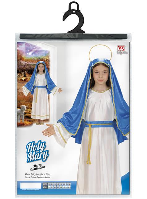 תחפושת הבתולה מרי עבור ילדה