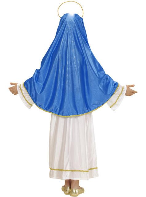 Fato da Virgem Maria para menina