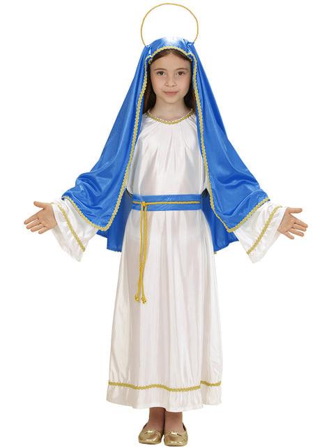 Disfraz de la Virgen María para niña - original