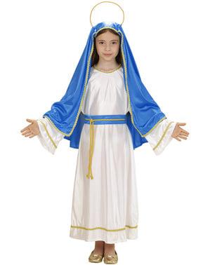 Disfraz de la Virgen María para niña