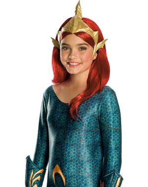 Tiara de Mera para menina - Aquaman