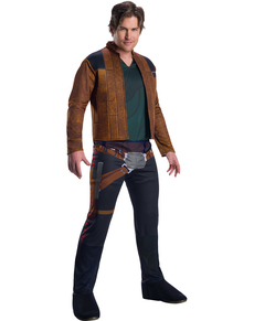 Disfraz de Han Solo para hombre - Han Solo: Una Historia de Star Wars