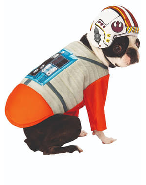 Fato de Piloto X-Wing para cão - Star Wars