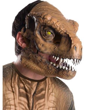 Mask Tyrannosaurus Rex deluxe för vuxen - Jurassic World