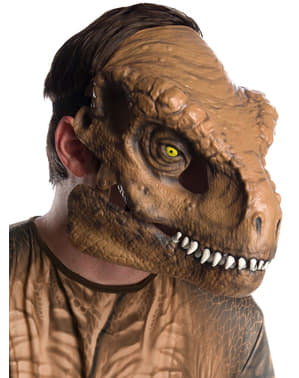Masque Tyrannosaure Rex deluxe adulte - Jurassic World