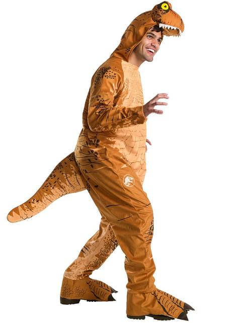 Fato de Tiranossauro Rex para adulto - Jurassic World