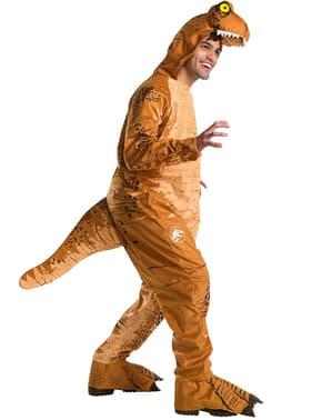 Disfarce de dinossauro Tiranossauro Rex para adulto - Jurassic World