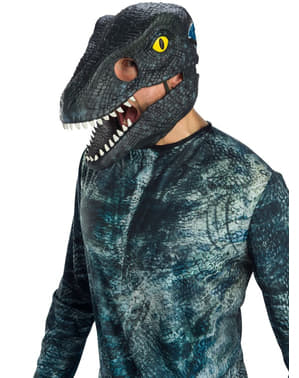 Máscara de Velociraptor Blue para adulto - Jurassic World