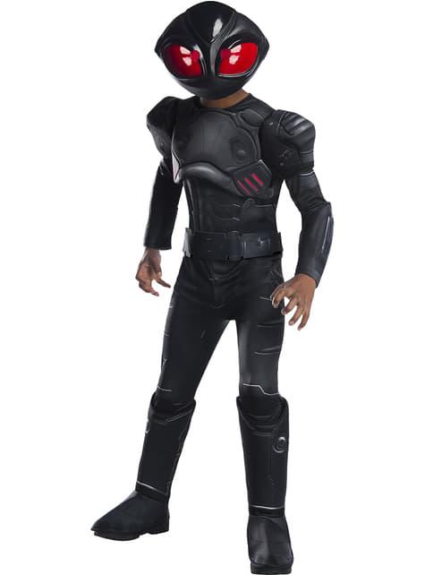 Deluxe Black Manta kostuum voor jongens - Aquaman