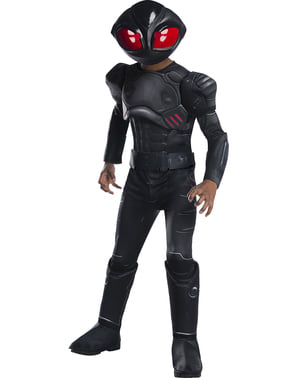 Deluxe Black Manta Costume for Boys - Aquaman