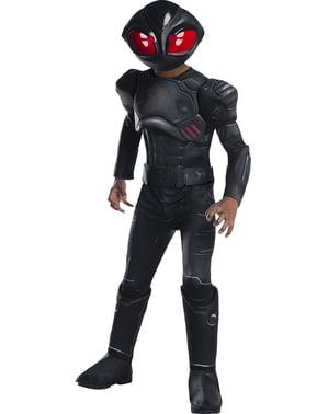 Deluxe Black Manta kostyme til gutter - Aquaman