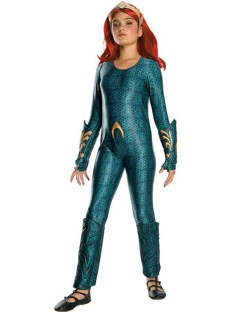 Deluxe Mera kostuum voor meisjes - Aquaman