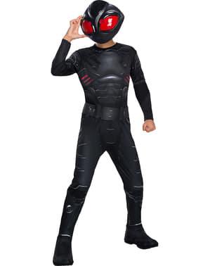 Klassinen Musta Manta-asu Pojille - Aquaman