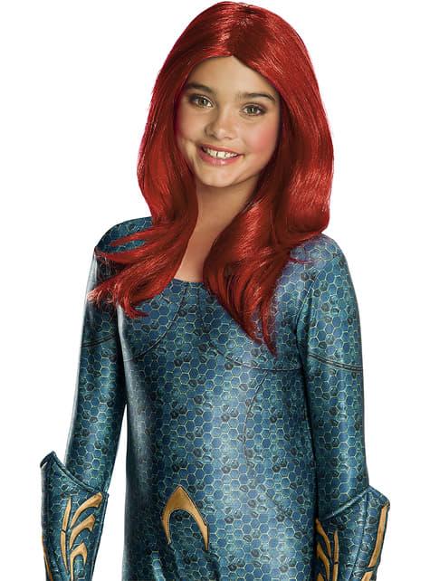 Peluca de Mera para niña - Aquaman