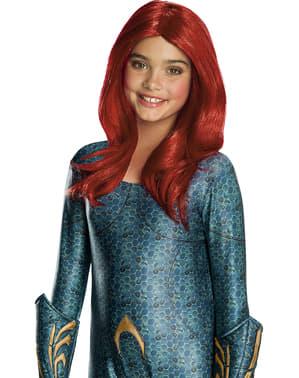 Parrucca di Mera per bambina - Aquaman