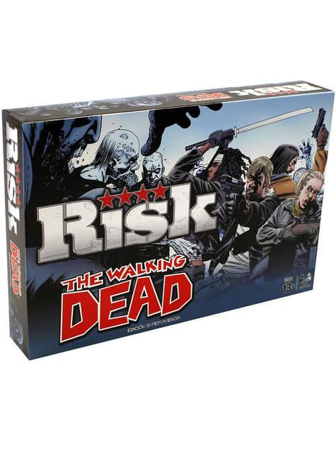 Jogo Risco (Risk) de The Walking Dead em espanhol