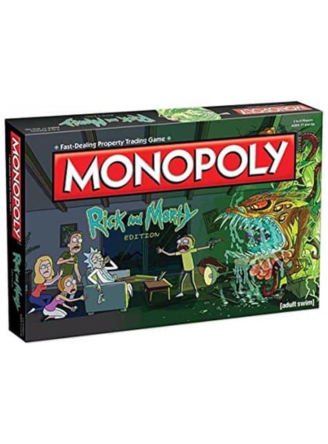 Monopoly de Rick and Morty em espanhol