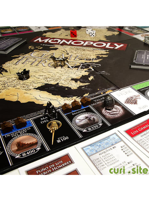 Monopoly de Juego de Tronos Edición Deluxe en español