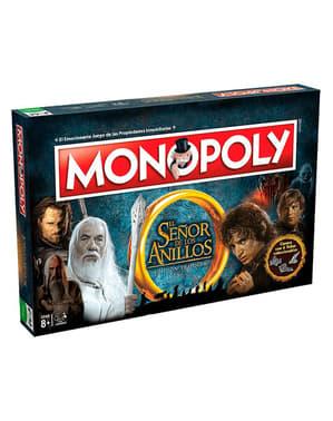 Monopoly de El Señor de los Anillos en español