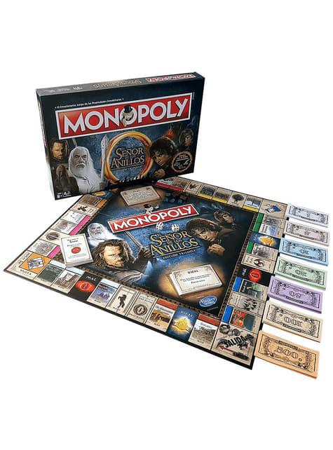 Jogo de mesa Monopoly - O Senhor dos Anéis