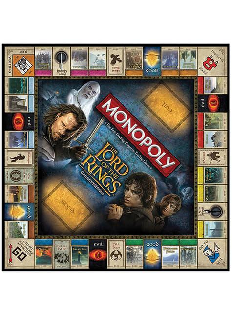 Monopoly de El Señor de los Anillos en español - barato