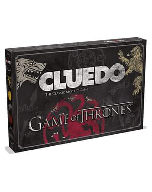 Cluedo de Game of Thrones em espanhol