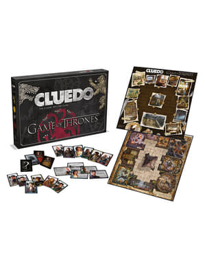 Cluedo Game of Thrones Sällskapsspel, Spanish Version