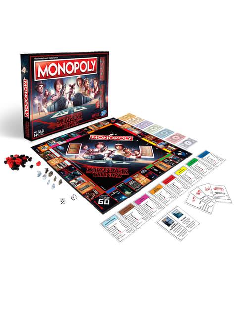 Monopoly de Stranger Things en español - oficial