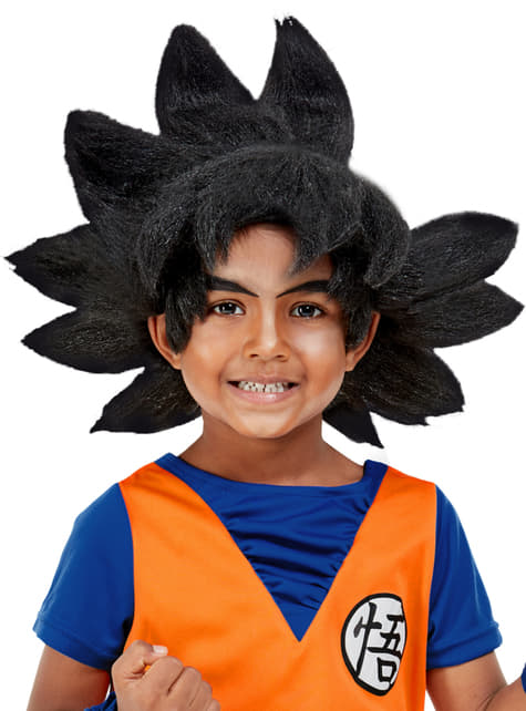 Peluca de Goku para niño - Dragon Ball