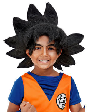 Goku parykk til barn - Dragon Ball