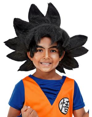 Goku Wig fyrir börn - Dragon Ball