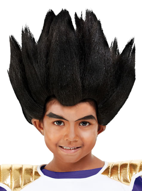 Peruca de Vegeta para menino - Dragon Ball